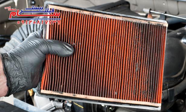 فیلتر هوا . علت اینکه فیلتر هوای ماشین روغنی و چرب میشود؟