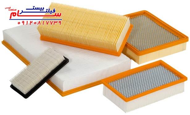 کاربرد فیلتر هوا در صنایع اچویایسی . فیلتر هوا