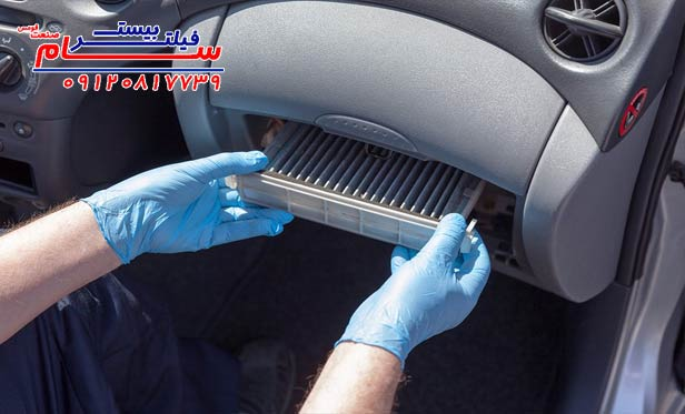 فیلتر هوا . چگونه از بوی بد داخل خودرو خلاص شویم؟