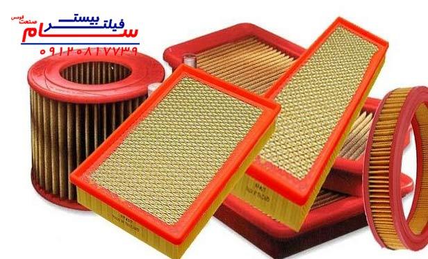 معرفی محصولات اصلی ساخت فیلتر هوا: