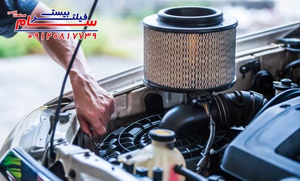 علائم کثیفی فیلتر هوای خودرو چیست؟