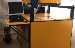 دستگاه رباتيک توليد فيلتر هوا